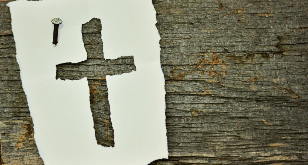 cross, nail, symbol